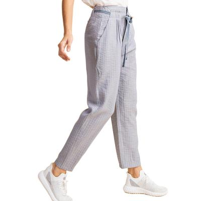Kori Women's Front Pleated Baggy Pants