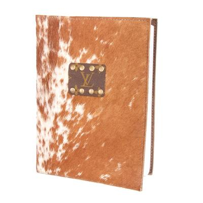 Cowhide Journal Cover