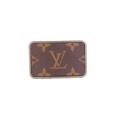 Upcycled LV Belt Buckle