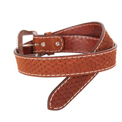 Men's Twisted X Roughed Out Diamond Belt
