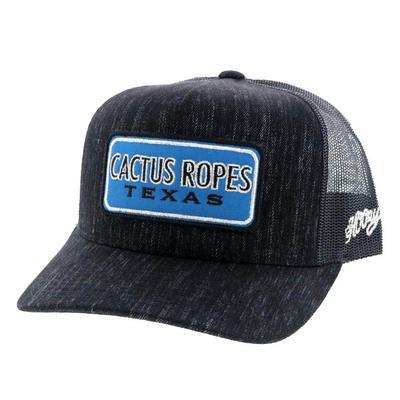 Hooey Blue Cactus Ropes Patch Cap