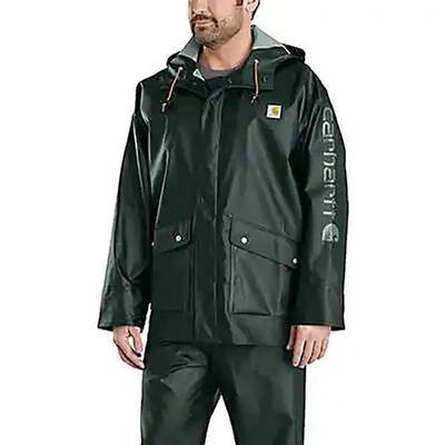 Carhartt Men's Light Weight Waterproof Rainstorm Jacket