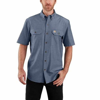 Carhartt Men's Original Fit Midweight Button-Front Shirt