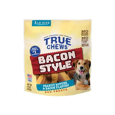 True Chews Bacon Style Peanut Butter & Bacon Flavored Treat