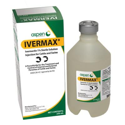 Ivermax 250 ML Injectable Sterile Solution for Cattle & Swine