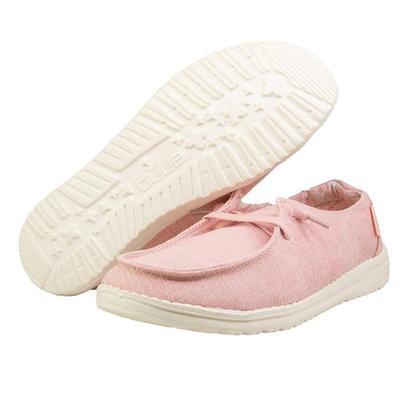 Hey Dude Women's Pink Wendy Linen