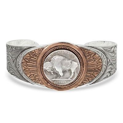 Montana Silversmiths Buffalo Cuff