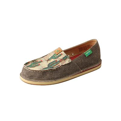 Twisted X Women's Cactus Print Loafer