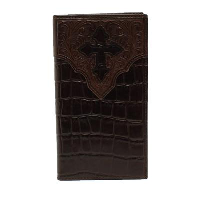 Crocodile & Cross Tooled Wallet