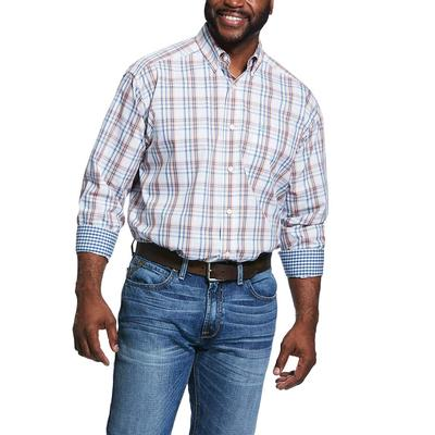 Ariat Men's Wrinkle Free Zukiah Button Down Shirt