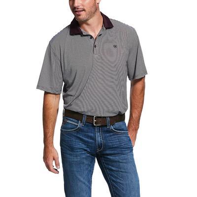 Ariat Men's Micro Stripe TEK Heat Series Polo