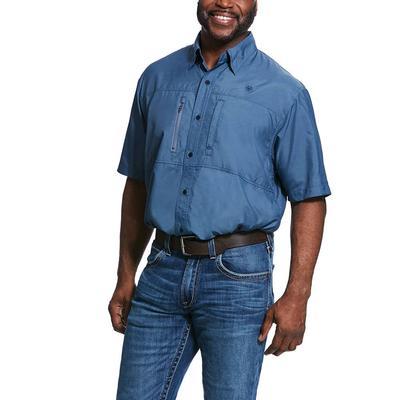 Ariat Men's Venttek Deep Petroleum Classic Shirt
