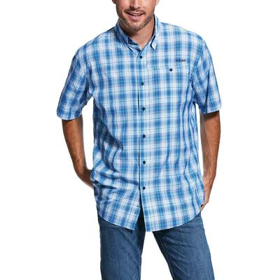 Ariat Men's Venttek 2 Aqua Plaid Shirt