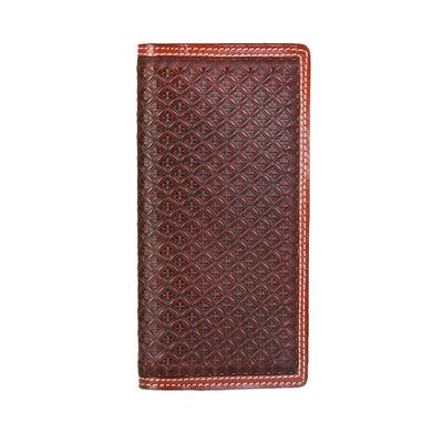 Tooled Rodeo Checkbook Wallet