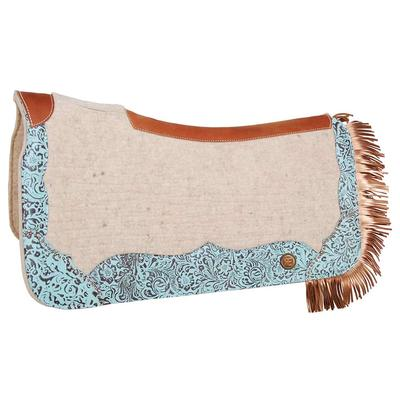 Circle Y of Yoakum Apex Limited Edition Exotic Turquoise Saddle Pad