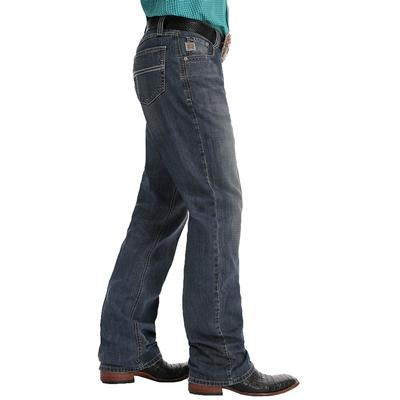 Cinch Men's Relaxed Fit Carter 2.0 Medium Stonewash Jeans