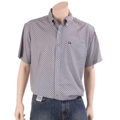Cinch Men's Lightweight Grey Button Down Shirt