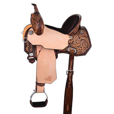 Circle Y of Yoakum Josey Cash Rancher Saddle