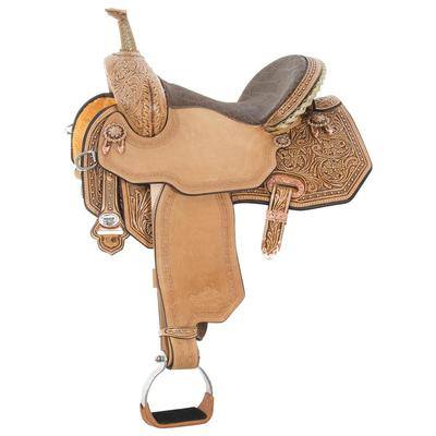 Circle Y of Yoakum High Horsed Mansfield Barrel Saddle