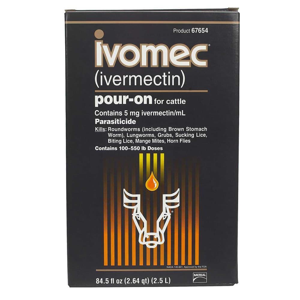 IVOMEC POUR-ON 2.5L