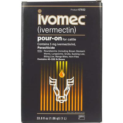 1l Ivomec Ivermectin Pour On For Cattle