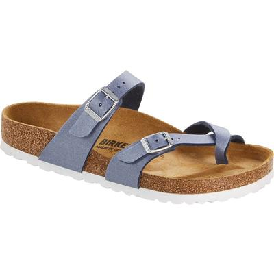 Birkenstock Women's Icy Metallic Azur Blue Sandals