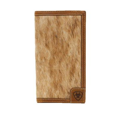 Men's Calf Hair Rodeo Wallet