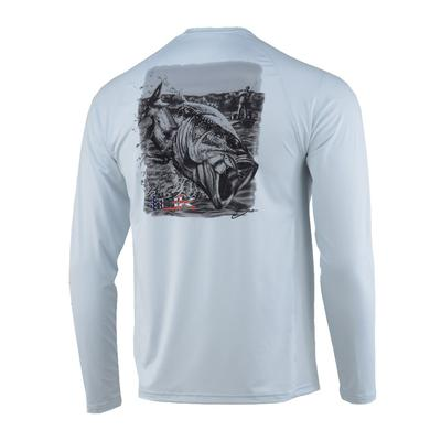 Huk Men's Air Bass Pursuit Shirt