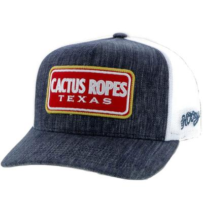 Hooey Denim Cactus Ropes Logo Cap