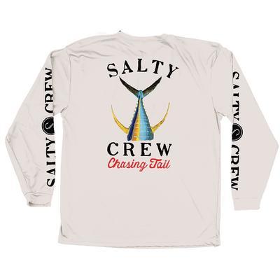 Salty Crew Men's Tailed White Tech Tee
