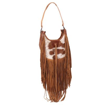 American Darling Large Hair On Bag With Fringe