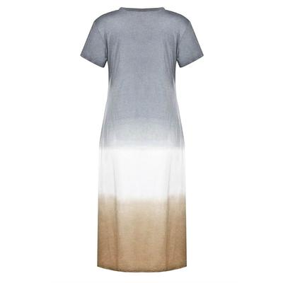 Women's Long Tie-Dye Dress