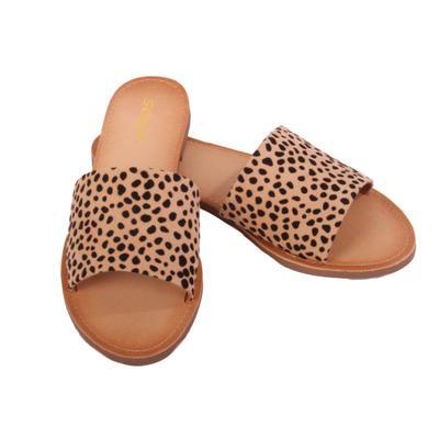 Women's Cheetah Sandals