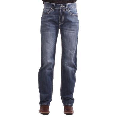 Rock & Roll Men's Double Barrel Straight Relaxed Jean