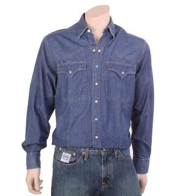Resistol Men's Classic Denim Snap Shirt