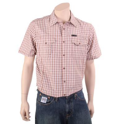 Wrangler Men's Plaid Flap Pocket Hike Shirt