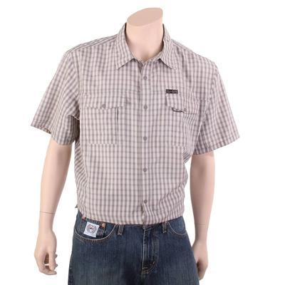 Wrangler Men's Green Button Flap Pocket Hike Shirt