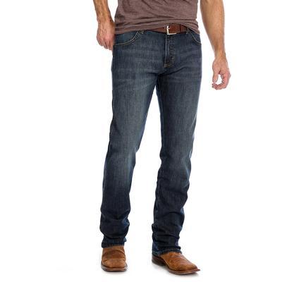 Wrangler Retro Men's Slim Straight Dark Wash Jeans
