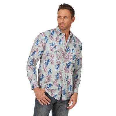 Wrangler Men's Checotah Western Snap Shirt