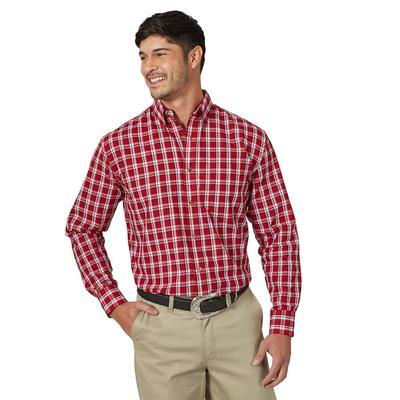 Wrangler Men's Riata Long Sleeve Dress Shirt