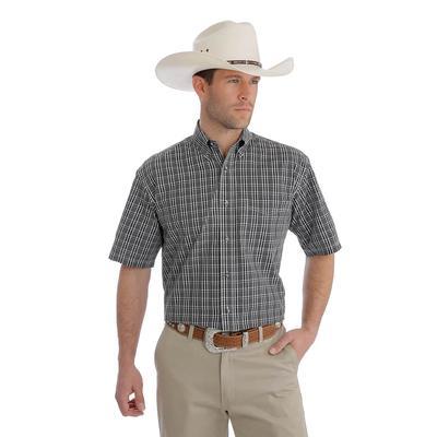 Wrangler Men's Short Sleeve Riata Button Down