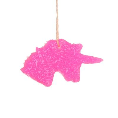 Diva Pink Unicorn Car Freshener
