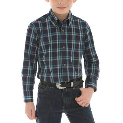Wrangler Boy's Riata Button Down Shirt