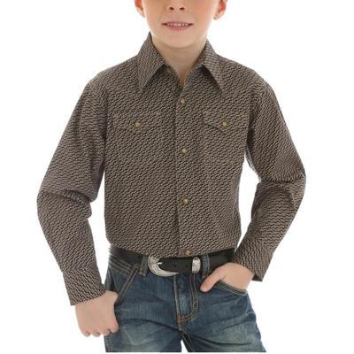 Wrangler Boy's Retro Button Down Shirt