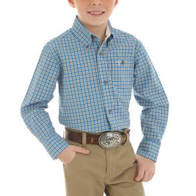 Wrangler Boy's 20X Button Down Shirt