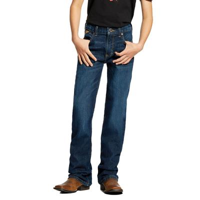 Ariat Boy's B4 Relaxed Fit Boot Cut Jeans