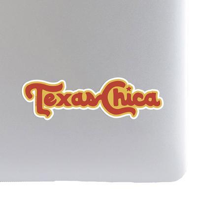 Tumbleweed Texas Chica Sticker