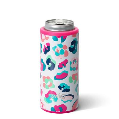 Swig 12oz Party Animal Skinny Can Cooler