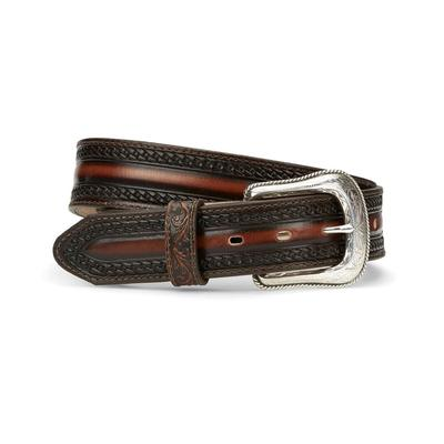 Tony Lama Men's Wild Bill Polished Leather Belt