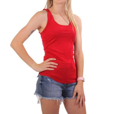 Black Tape Women's Red Tank Top